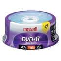 MAXELL 4.7 GB DVD+R 16X 25 SPINDLE