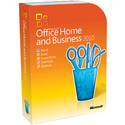 OFFICE HOME AND BUSINESS 2010 32-BIT / X64 US DVD SD 6 / 15