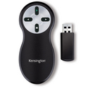 WIRELESS PRESENTER 4BTN RF USB BLACK PRESENTATION REMOTE WIN